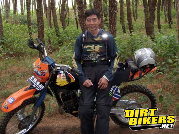 frans tanujaya-pendiri trabas - dirt bikers indonesia