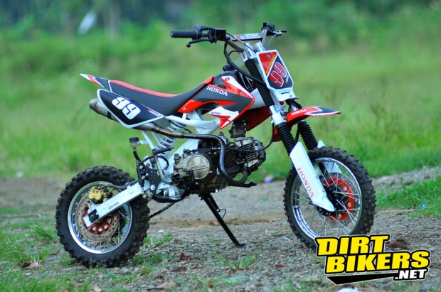 trail millenium mini dirt bikers indonesia 2