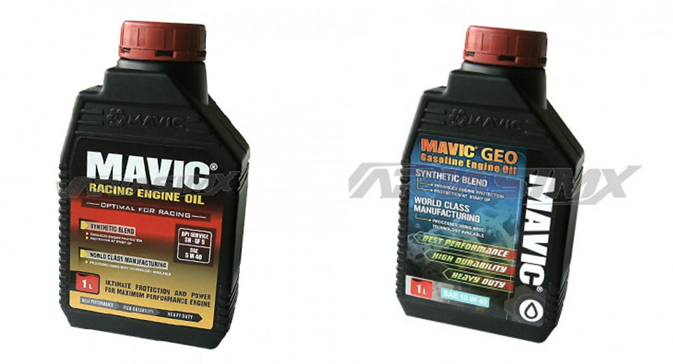dua oli mavic racing oil