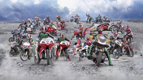 Kamen Rider Bikes