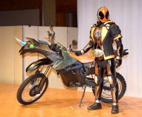 Kamen Rider Ghost Bike Machine_Ghostriker
