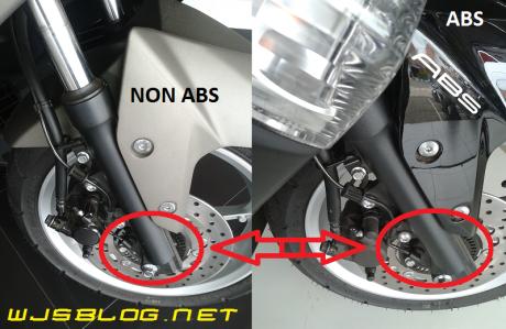 NMAX Abs dengan non ABS