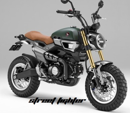 Honda Grom Konsep - Street Fighter