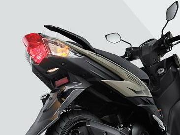 Soul GT125 lampu belakang