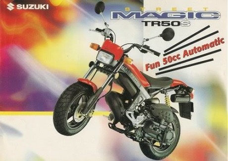 Suzuki Street Magic brosur