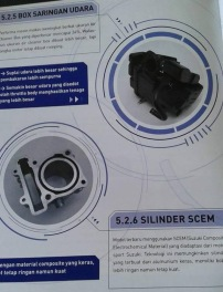 Booklet Satria FU Injeksi 05 box filter dan silinder scem