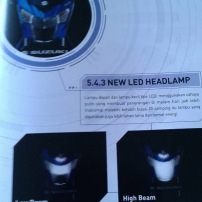 Booklet Satria FU Injeksi 13 lampu
