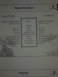 Booklet Satria FU Injeksi 18 spek