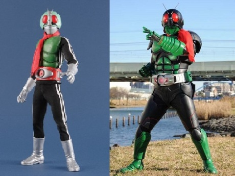 Kamen Rider Ichigo Past and Now