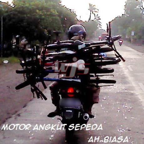 Motor Angkut Sepeda