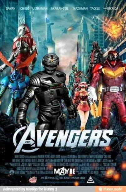 The Avengers TOkusatsu
