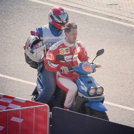 Vettel Naik Yamaha BWS
