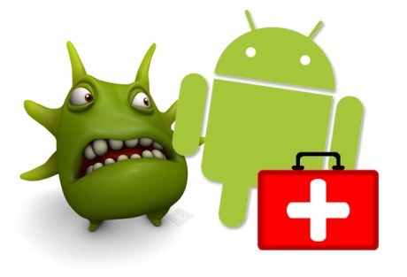 android-logo-character-with-virus-and-first-aidf-kit